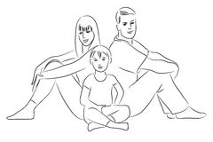 Family. Royalty Free Stock Photography