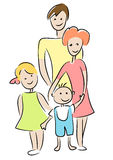 Family. Royalty Free Stock Images