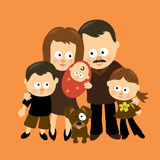 We are Family 3 Stock Images