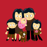We are Family 4 Royalty Free Stock Photos