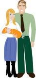 Family 4 vector illustration