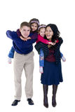 Family. A happy family. Bonding, Love, marriage, children Royalty Free Stock Image
