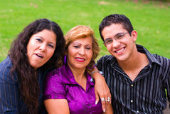 Family. Grandmother, mother and grandson family Royalty Free Stock Photography