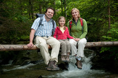 Family adventure Stock Photo