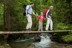 Family adventure Stock Photography