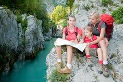 Family adventure Royalty Free Stock Photography