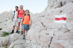 Family adventure Royalty Free Stock Photography