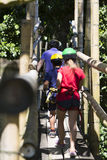 Family Adventure Vacations Stock Images