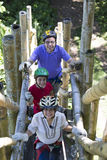 Family Adventure Vacations Royalty Free Stock Photography