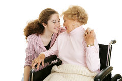 Family Affection Stock Photography