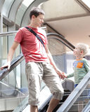 Family at the airport Royalty Free Stock Photography