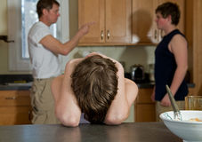 Family argument Stock Photography