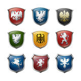 Family arms vector Royalty Free Stock Photo