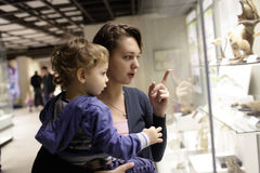 Free Family At Historical Museum Stock Photo - 35268800