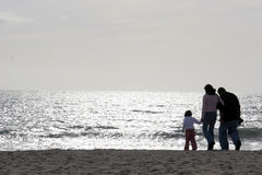 Free Family At The Beach Stock Image - 577241