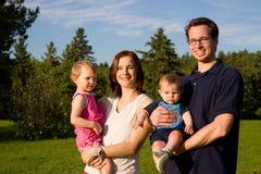 Free Family At The Park Stock Photo - 833410