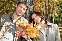 Family autumn Royalty Free Stock Photo
