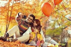 Free Family Autumn Selfie Royalty Free Stock Photo - 123729075