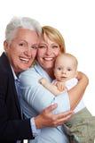 Family baby portrait Royalty Free Stock Photo