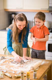 Family Baking Royalty Free Stock Images