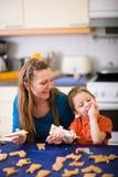 Family Baking Stock Photos