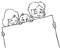 Family banner stock images