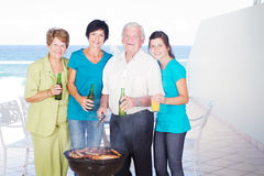 Family barbecue Royalty Free Stock Photos