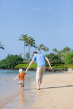Family on a beach Royalty Free Stock Photography