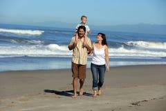 Family beach Royalty Free Stock Image