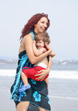 Family Beach Royalty Free Stock Photos