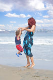 Family Beach Royalty Free Stock Photography