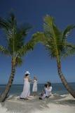 Family on Beach Royalty Free Stock Photo