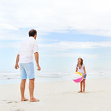 Family beach fun Royalty Free Stock Photos
