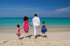 Family beach vacation Stock Photography