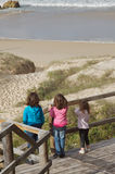 Family beach vacation  Royalty Free Stock Image
