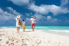 Family beach vacation Stock Photo