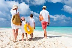 Family beach vacation Stock Photography