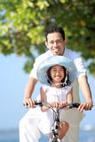 Family bicycle Royalty Free Stock Photos