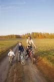 Family on bike Stock Photography