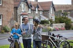 Free Family Bike Ride Stock Photo - 62596140