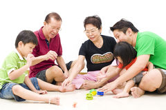 Family bonding session Royalty Free Stock Image