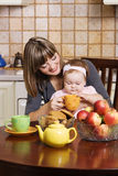 Family breakfest Stock Photo