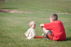 Family: Brothers Royalty Free Stock Images
