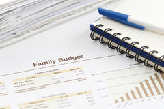 Family Budget Royalty Free Stock Images