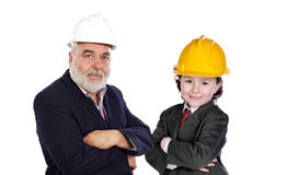 Family business royalty free stock photo