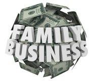Family Word DNA Strand Biology Hereditary Traits Stock ...