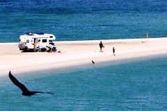 Free Family Camping By The Beach Of Baja California, Mexico IV Stock Photo - 43952500