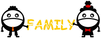 Family can brake Stock Images