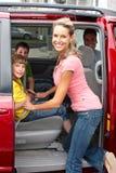 Family car Stock Image