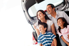 Family car Stock Image